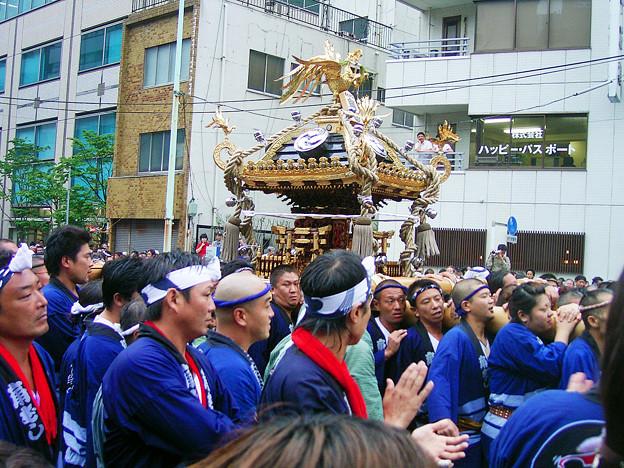 八幡祭り 句 神輿渡御 ググる 0817 100