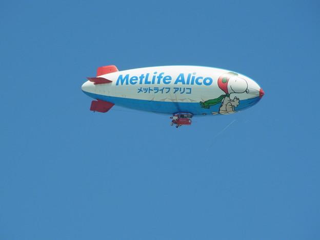 0830 メットライフアリコ 飛行船 029
