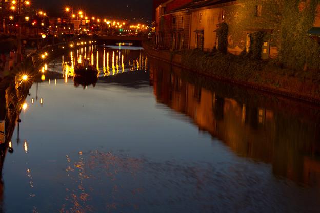 運河の灯り