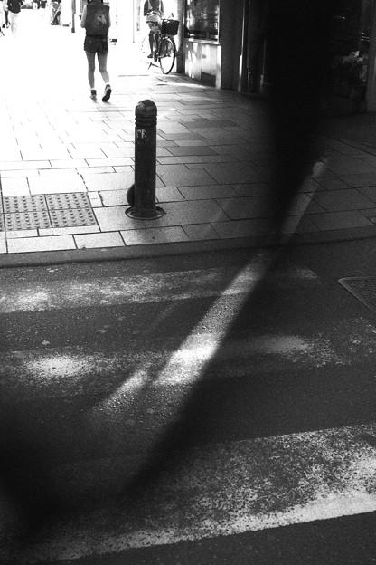 光りと影のある街