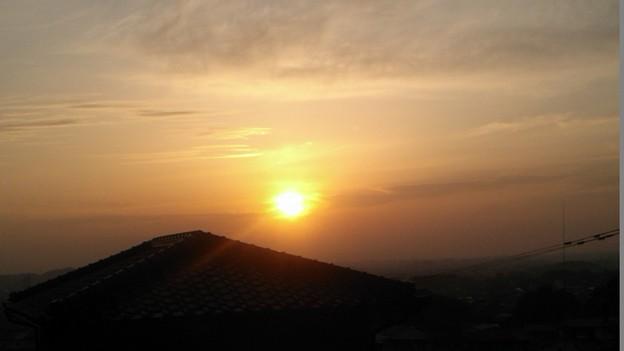 「夕日」です・・・・・