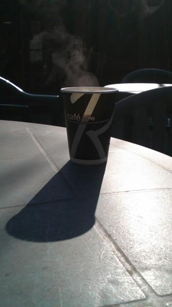 「美術館のコーヒー・・」を・・・・