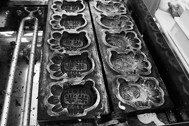 金魚焼きの焼型
