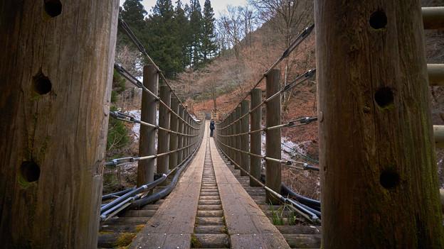 尾ノ内百景-吊り橋