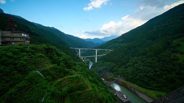 滝沢ダム-ループ橋