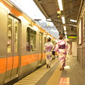 Photos: 浴衣 @ 青梅駅