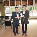 写真: 足利カントリークラブ3月月例杯競技で入賞したお客様2014.3.2.