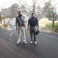 Photos: 城山カントリー倶楽部足利支部対抗ゴルフプレー後の私と克明さん