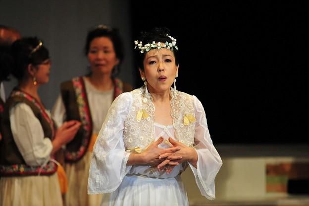 岩井理花 オペラ歌手 ソプラノ メリーウィドウ ハンナ ゲネプロ 軽井沢