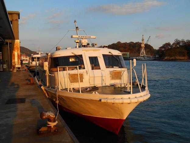 高速艇シトラス号着岸