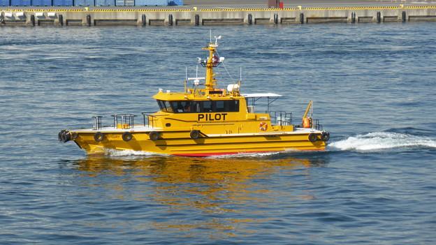 横浜消防出初式2014 PIROT船 マーキュリー
