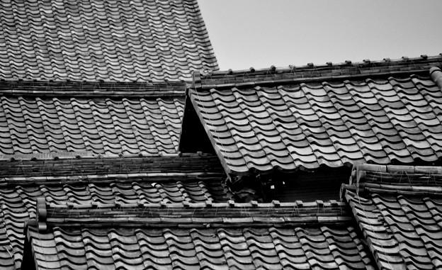 近江八幡 屋根瓦