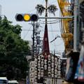 Photos: 祇園祭 鶏鉾を北から望む