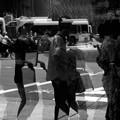Photos: 祇園祭 四条通り ショーウインドに映る人影2