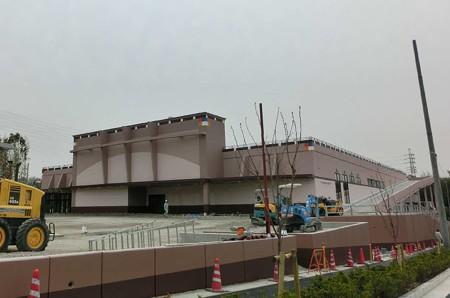 カネスエ徳重店  2013年4月下旬 開店予定で店舗ほぼ完成-250320-1