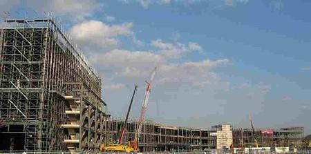 イオン各務原ショッピングセンター 2007年夏オープン 予定で建設中-190214-1