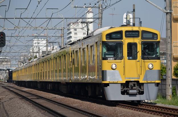 2081F+2403F 準急西武新宿行き