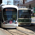 Photos: 広島電鉄5100形と800形