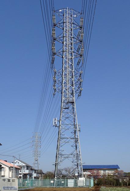 中富線76号鉄塔