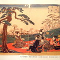 燗銅壺 歌川広重 江戸の花見