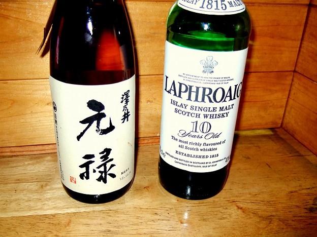 「くせ者!出合え!!」 元禄酒VSラフロイグ曲者対決