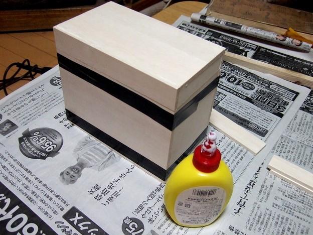 燗銅壺収納箱 製作開始