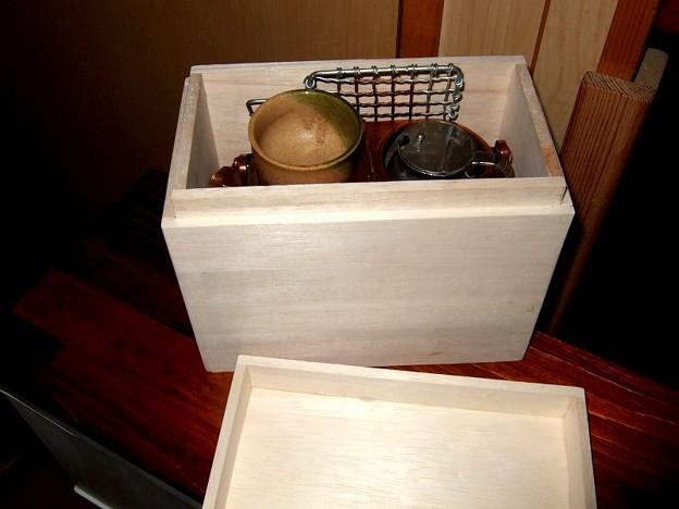 燗銅壺 箱の自作