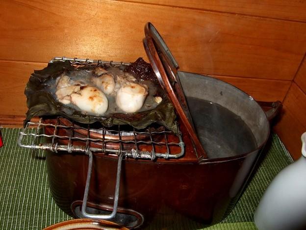 カキ昆布焼き