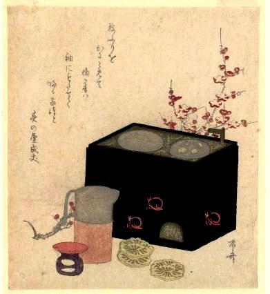 燗銅壺歴史資料 江戸後期 錦絵
