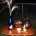 月見酒 燗銅壺