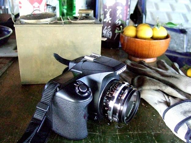 撮影カメラ レンズはシャハト35mm