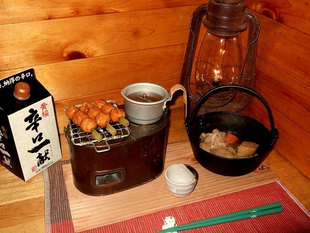 Photos: 燗銅壺 瑞鶴 江戸中期