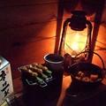 Photos: 燗銅壺 つくねと肉じゃがで一杯