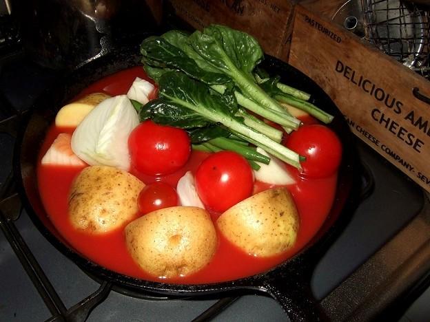 スキレット料理 1
