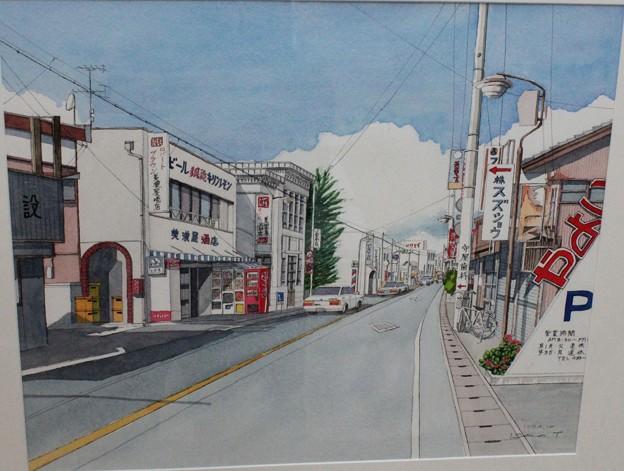 絵で見る笠井昔の街並