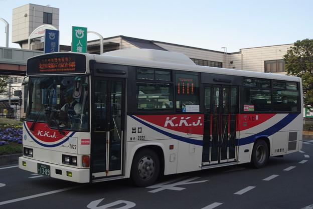 川越観光自動車 2022号車 レインボーRJ