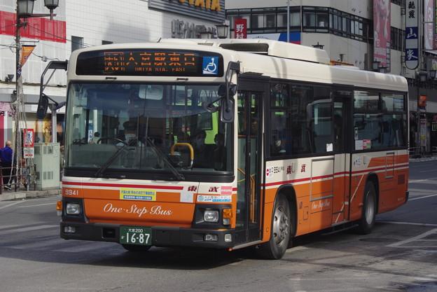 東武バスウエスト 9941 大宮200か1687