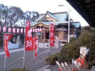 龍口明神社。