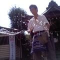玉散る滴(8月19日、塩釜神社)