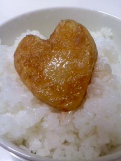 ハート餅(9月30日)