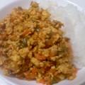 妻の豆腐カレー(10月24日)