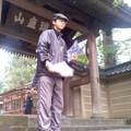円覚寺総門(11月4日、角田晶生)