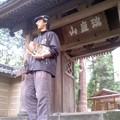 円覚寺総門(11月6日、角田晶生)