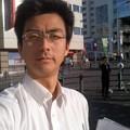 チラシ配り(1月12日、湘南台)
