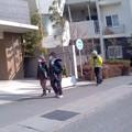 Photos: パトロール中(1月22日、小袋谷町内会)