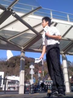 観音様のお膝元(1月27日、角田晶生)
