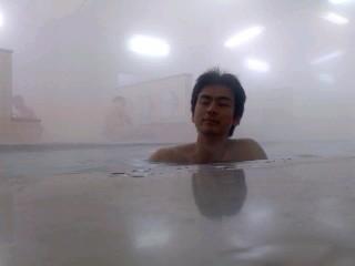 入浴(2月1日、横須賀教育隊)