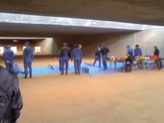 小火器射撃訓練(2月2日、小銃の部)