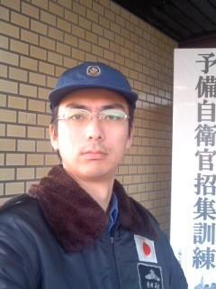予備自衛官招集訓練(2月3日、角田晶生)