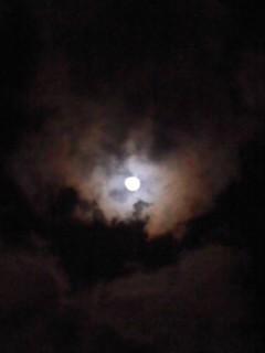 今夜の月(3月15日)